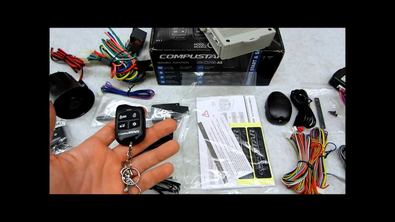 Compustar cs700s Keyless remote start system review - YouTube