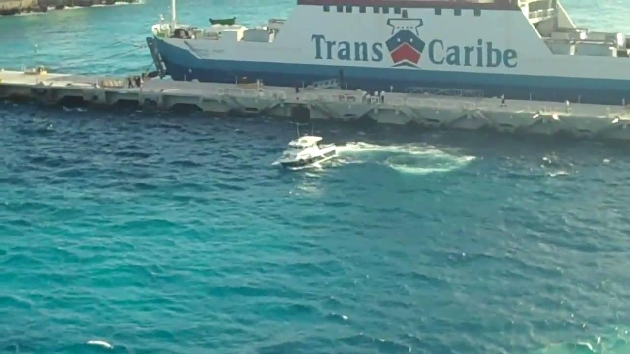 Disney Cruise Ship Abandons Running Guy In Cozumel Youtube