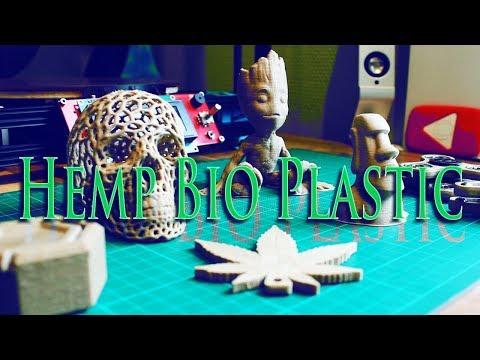 Eco Friendly Hemp Bioplastic Filament | 3DPrinted
