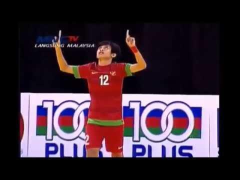 BBS'Bambang Bayu Saptaji' Futsal Skills,Goals,and Tricks  Indonesia Best Futsal Player @VamosMataram