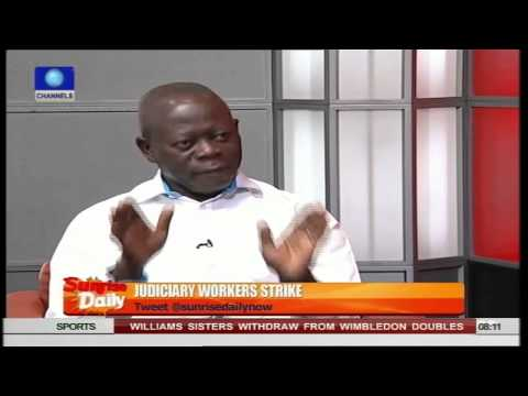 Oshiomhole Blames Ministry Of Petroleum And Finance For Owed Salaries PT3    01/07/15