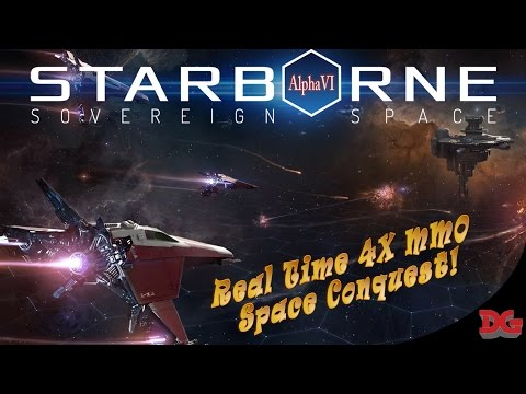 Starborne  Real Time 4x MMO ► Gameplay and Tutorial! *Part 1* (1440p/60)