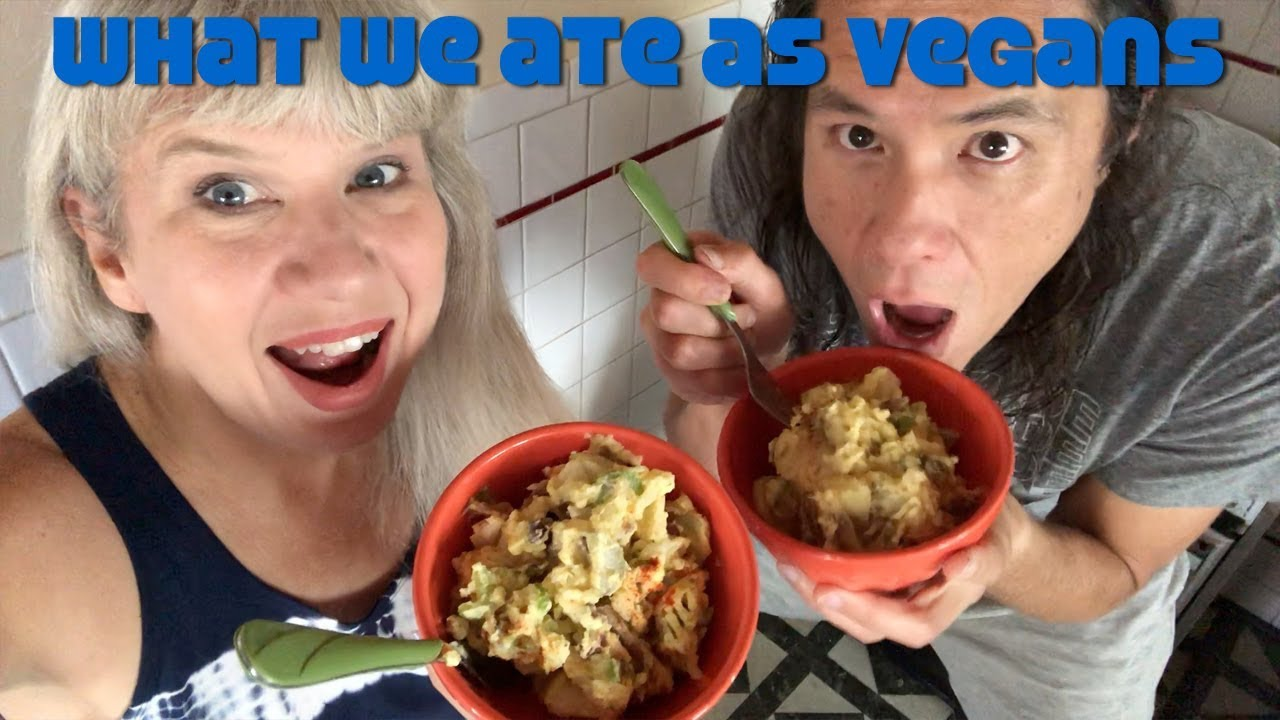 What I Ate In A Day Vlog   Cooking Vegan, Gym, Mail, Squirrels