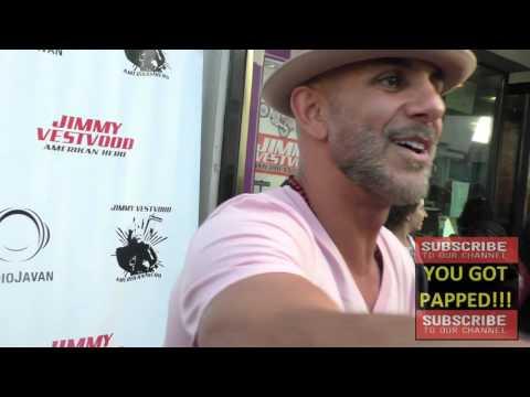 Anthony Azizi at Comedian Maz Jobrani's Premiere Of Jimmy Vestvood Amerikan Hero at  Laemmle Music H