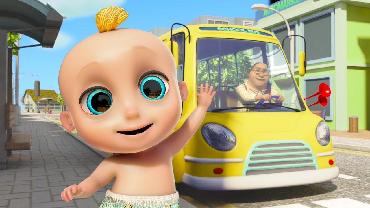 Las Ruedas Del Autobús ¡Nueva Versión! - Canciones Infantiles | El Reino Infantil