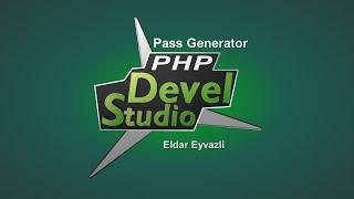 #8 Php Devel Studio 3.0-ile program duzeltmek (Pass Generator)