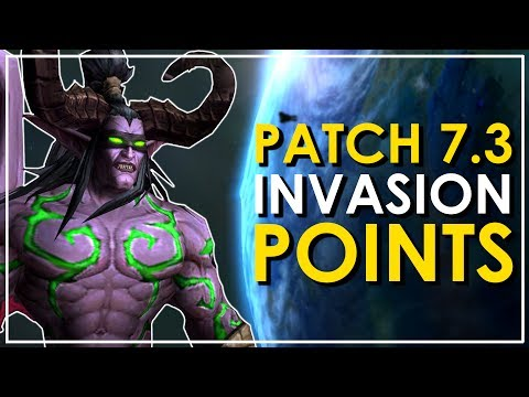 "New Patch 7.3 Feature! - You Can Assault 9 New Planets with ""Invasion Points"""