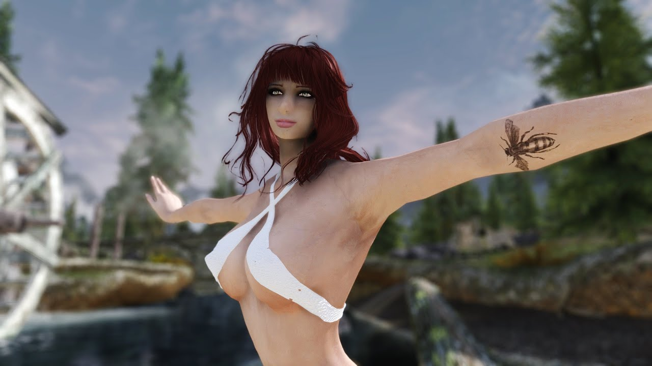 Skyrim: Mixing Different Body/Head Textures