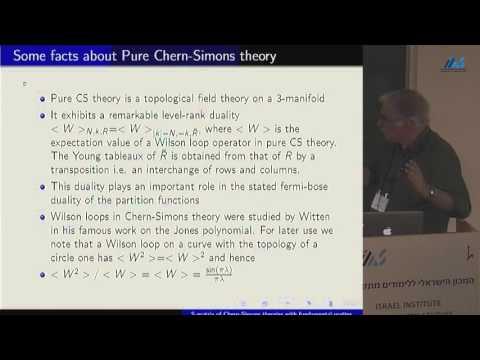 Spenta Wadia - The S-matrix in Chern-Simons + matter theories