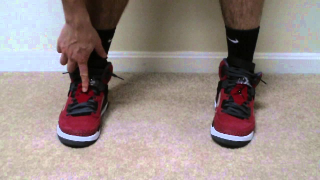 660186fa936a Air) Jordan Spizike On Feet Review - YouTube
