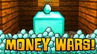 """Minecraft MONEY WARS #5 """"THE MONEY TEAM!"""" w/ Woofless & Brandon"""
