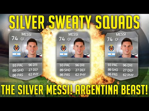 OMFG THE SILVER MESSI! ARGENTINA SILVER BEASTS! | Silver Sweaty Squads Ep 9 | FIFA 15