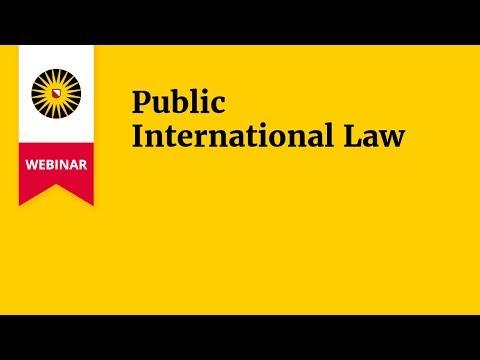 Webinar Public International Law