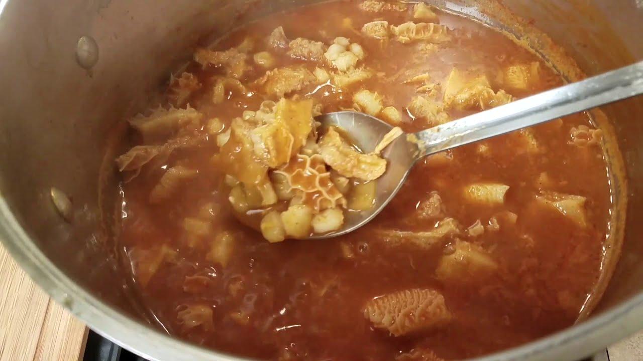 EASY MENUDO RECIPE  How To Make Menudo  Mexican Hangover Soup