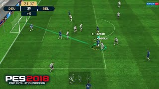 PES 2018 Mobile gamplay
