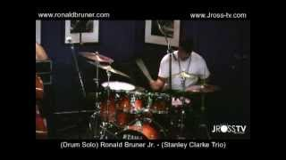 "James Ross @ (Drummer) - Ronald Bruner Jr. - (Drum Solo) - ""Live In St. Louis"" - www.Jross-tv.com"