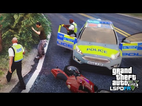 GTA 5 LSPDFR - FIRST PATROL IN A WHILE - The British way #96