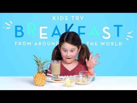 Kids Try Breakfast from Around the World | Kids Try | HiHo Kids