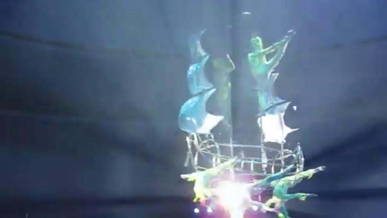 Цирк на воде. Воздушный корабль.
