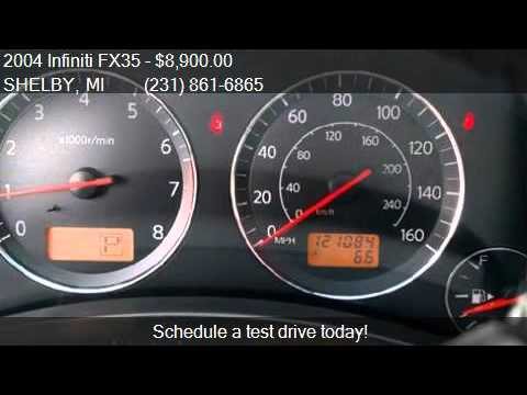 2004 Infiniti FX35 Base for sale in SHELBY, MI 49455 at Affo