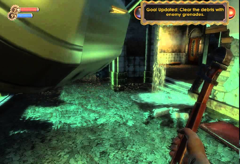 How to get the Telekinesis plasmid on BioShock 1 - YouTube