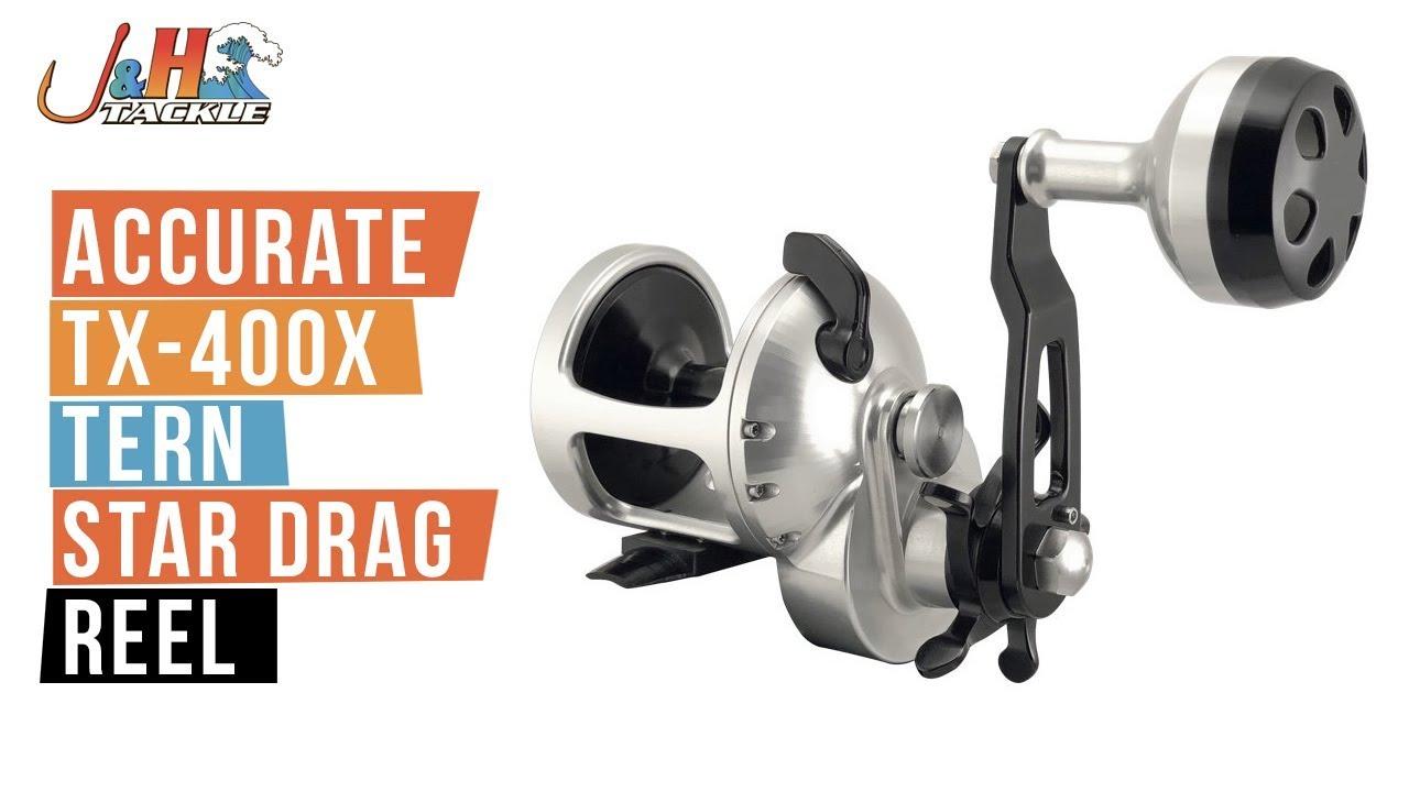 Accurate TX-400X Tern Star Drag Reel | J&H Tackle