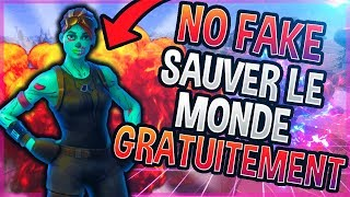 """""""SAUVER THE WORLD"""" IS DISPONIBLE -FREE ON FORTNITE (EXCLU PS4)"""