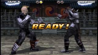 Tekken Tag 1 ( Arcade ) - Jack-2 / Lei Playthrough ( Sept 18, 2016 )