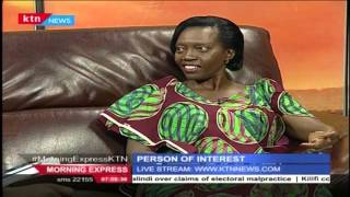Person Of Interest 8th March 2016: One on One with the Iron Lady Martha Karua [Part 1]