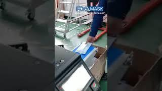 마스크 다기능 처리 마스크 플로우 백 포장기 테스트 비…
