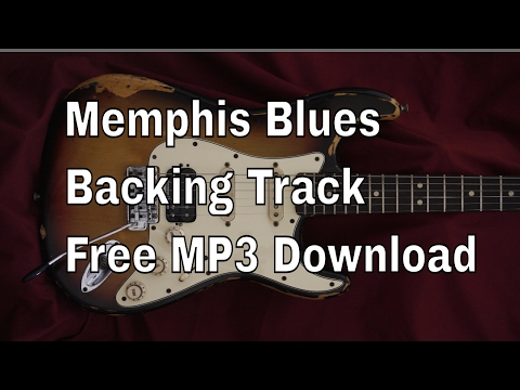 Memphis Blues Backing Track in A minor. Free MP3 Download