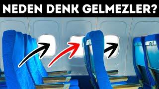 Uçak Koltuklarıyla Pencereleri Neden Birbiriyle Eşleşmez ve Uçuşlar Hakkındaki 31 Az Bilinen Gerçek