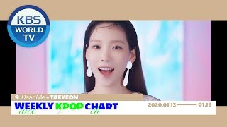 Weekly KPOP Chart 6-10 [2020.01.13-01.19]