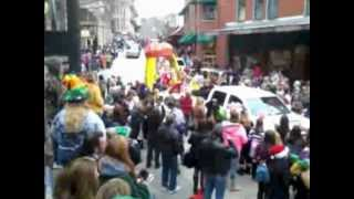 Mardi Gras Parade in Eureka Springs, Arkansas 2/18/2012