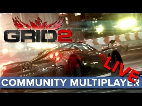 Grid 2 - Community Multiplayer LIVE - Eurogamer