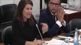 Emília Cerqueira questiona o eurodeputado Nuno Melo