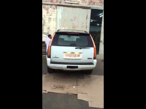 gmc 07-14 with 2015 Escalade style long tail lights - YouTube