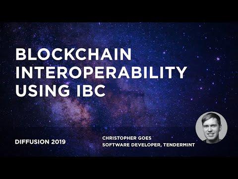 Blockchain interoperability using IBC