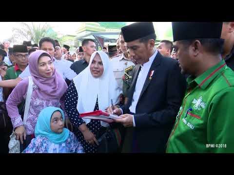 Presiden Joko Widodo Pada Acara Hari Lahir NU ke 92