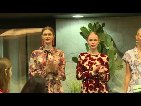 """8pm Harper's Bazaar Arabia curated Fashion presentation exclusively for Etoile """"la boutique"""""""