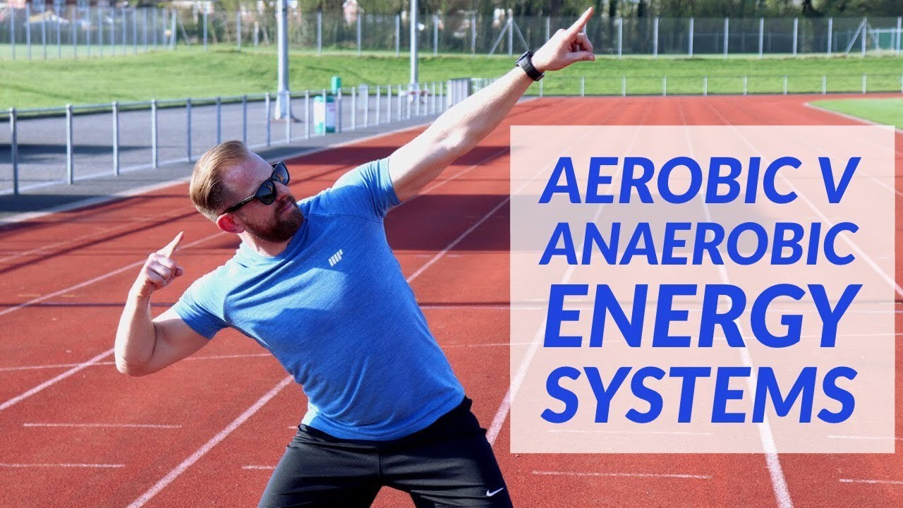 Aerobic v Anerobic Energy Systems - ATHLETICS TRACK DEMONSTRATION