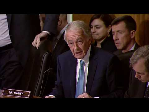 Markey Calls for Limiting President Trump