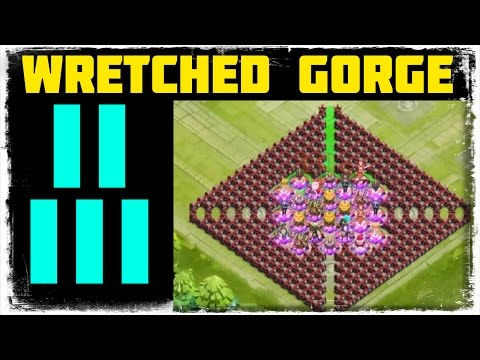 Castle Clash: Wretched Gorge II And III - Game Updage