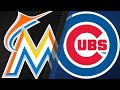 Cubs pound 4 homers, 14 runs agains Marlins: 5/7/16