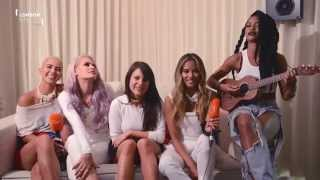 Girl band G.R.L. perform acoustic version of Heart