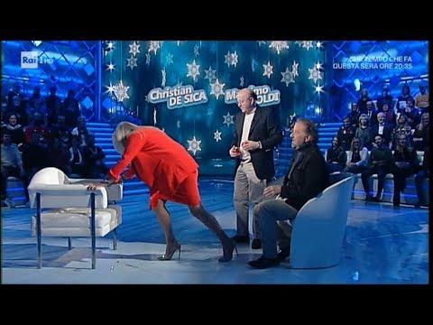 Mara Venier e la poltrona incriminata - Domenica in 16/12/2018