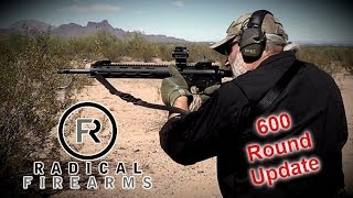 Radical Firearms AR-15 : 600 Round Update