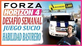 Forza Horizon 4 Habilidad Basurero Ford Transit SSV Capitulo 3 Juego Sucio
