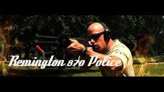 Remington 870 Police Magnum 12ga Shotgun Review (HD)