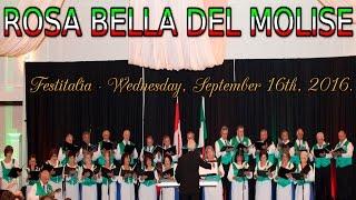 """Coro Abruzzese di Hamilton e Distretto canta """"Rosa Bella del Molise"""""""